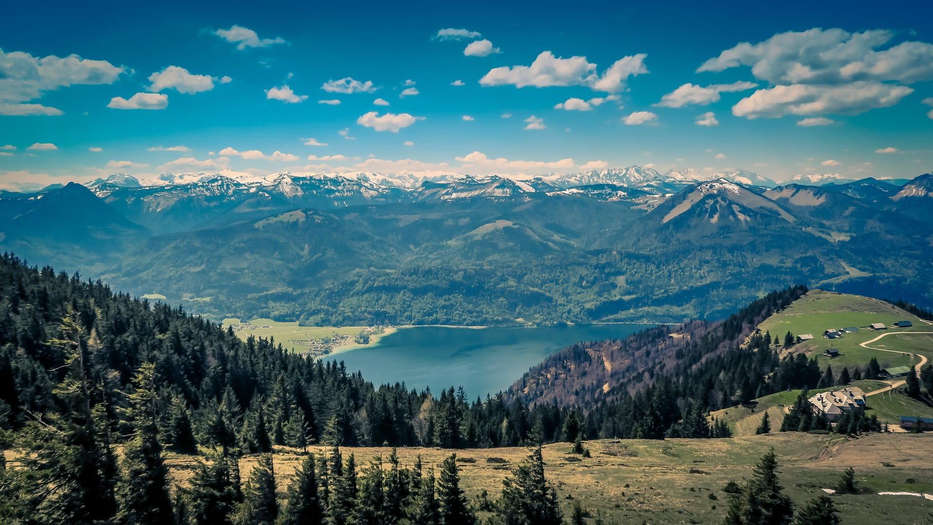 Landschaftsaufnahme österreichischer Berge